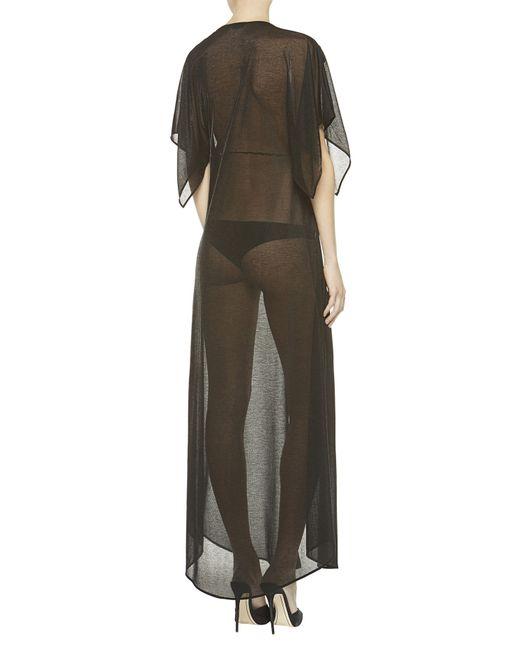 La Perla   Black Night Robe   Lyst