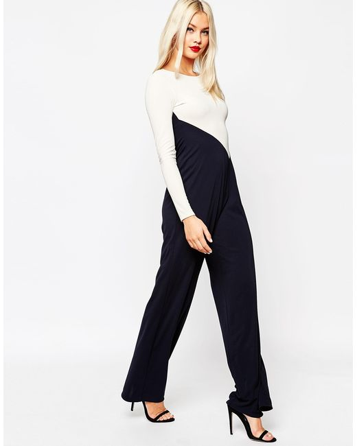 Innovative Navy Blue Jumpsuit For Women