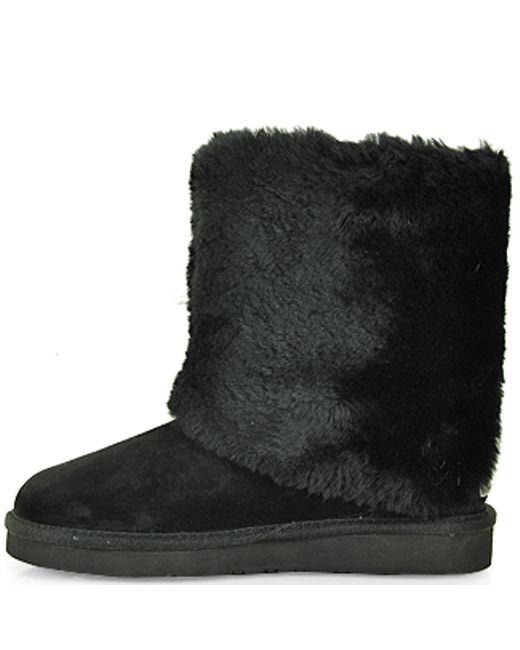 ugg patten shearling cuff boot