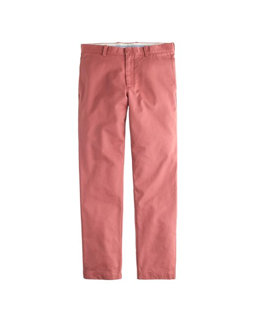 J.Crew | Pink Essential Chino In 770 Fit for Men | Lyst