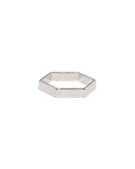 Bing Bang | Metallic Hexagon Ring | Lyst