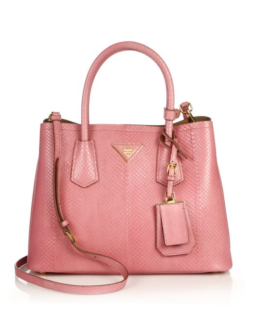 e2ed534fb9e2 Prada Double Bag Pink | Stanford Center for Opportunity Policy in ...