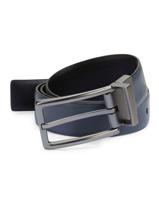 Calvin Klein | Gray Reversible Leather Belt for Men | Lyst