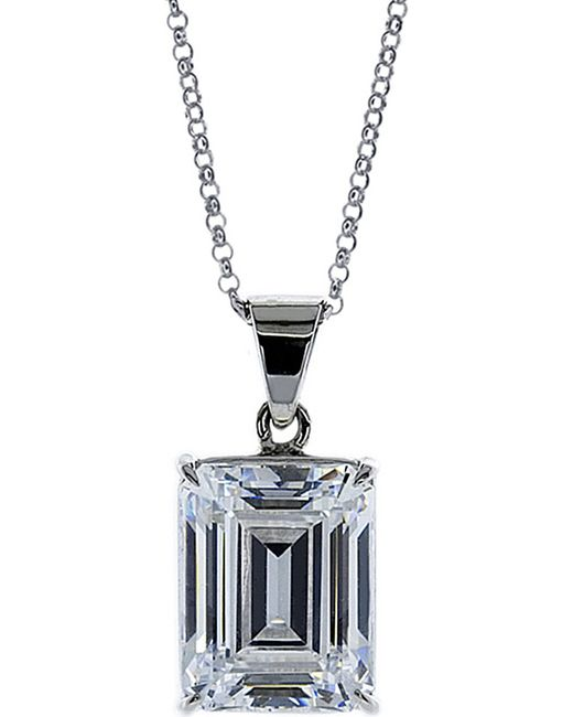 Carat* | White Emerald 1.5ct Solitaire Pendant Necklace | Lyst
