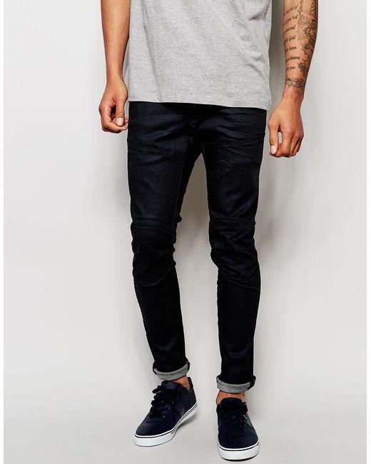 g star raw jeans 5620 elwood 3d super slim fit stretch. Black Bedroom Furniture Sets. Home Design Ideas