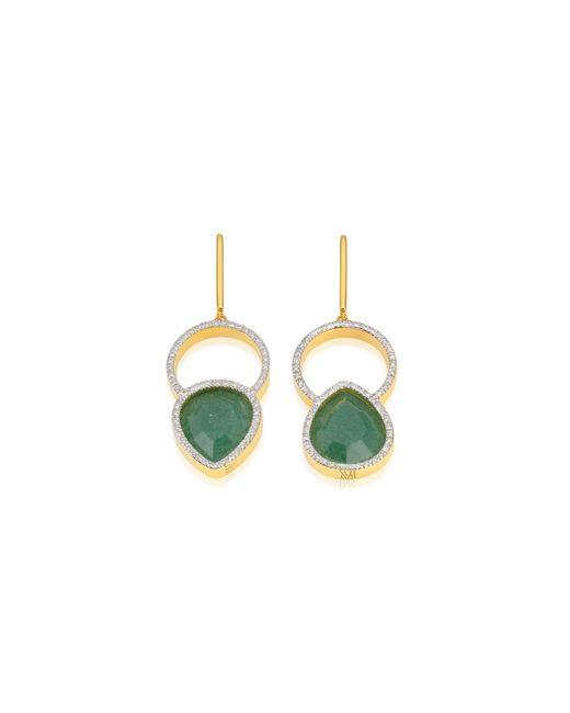 Monica Vinader   Metallic Naida Kiss Cocktail Earrings   Lyst