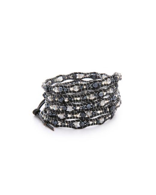 Chan Luu   Black Multi Strand Seed Bead Bracelet   Lyst