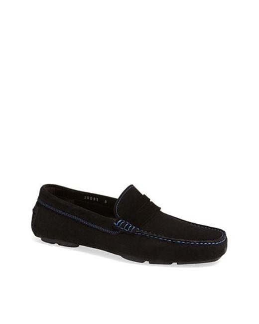 To Boot | Black 'ashton' Driving Shoe for Men | Lyst