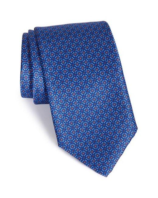 Robert Talbott | Blue Best Of Class Geometric Silk Tie for Men | Lyst