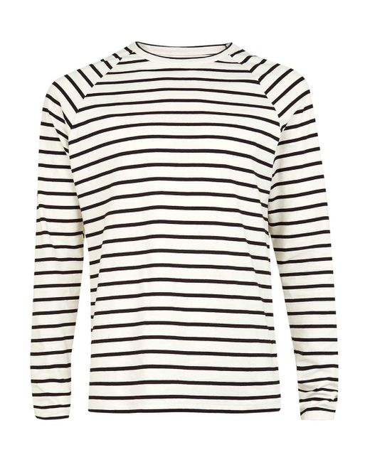 Long Sleeve Cotton Striped Shirt -Long sleeve shirt suits for spring PattyBoutik Women's Off Shoulder Long Sleeve Top. by PattyBoutik. $ $ 26 99 Prime. Largemouth Women's Long Sleeve Striped Shirt Black/White. by Largemouth. $ $ 22 FREE Shipping on eligible orders. out of 5 stars