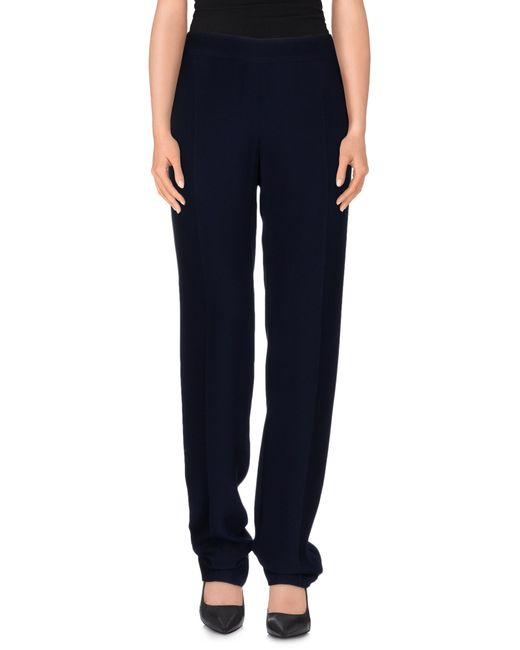 Armani | Blue Casual Pants | Lyst