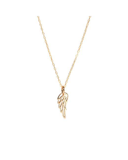 Bing Bang | Metallic Wing Necklace | Lyst