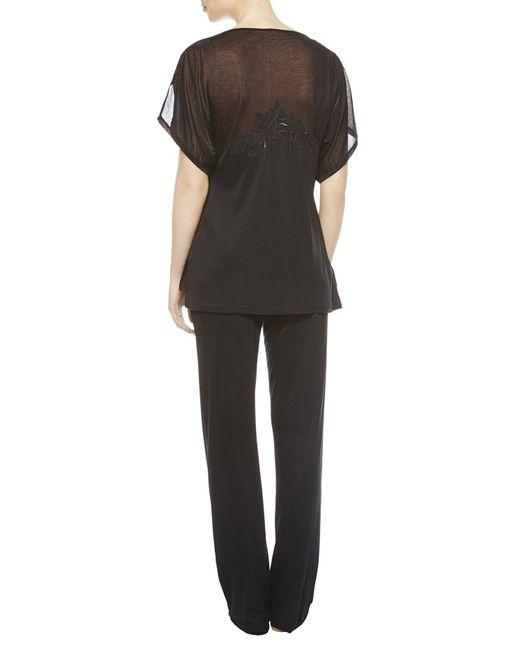 La Perla | Black Pyjama | Lyst