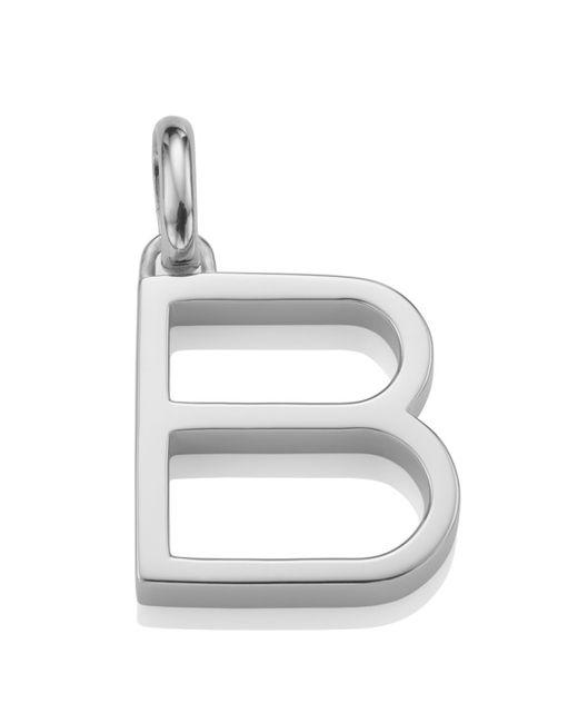 Monica Vinader | Metallic Alphabet Pendant B | Lyst