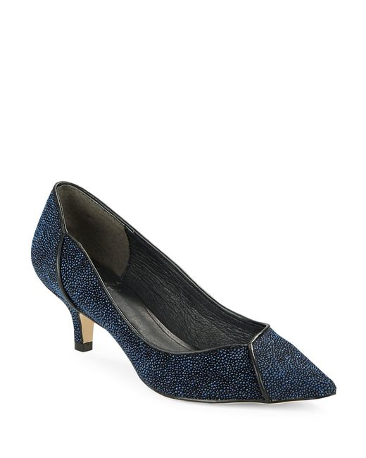 Adrianna Papell | Blue Lydia Point-toe Pumps | Lyst