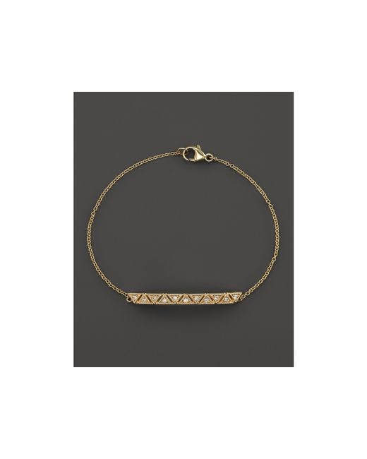 Dana Rebecca | Metallic Kathryn Lynn Diamond Bracelet | Lyst
