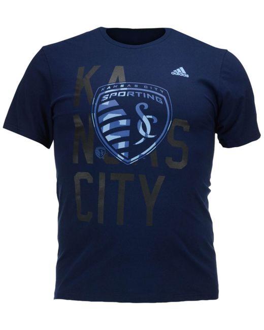Adidas originals men 39 s sporting kansas city shine through for Custom shirts kansas city