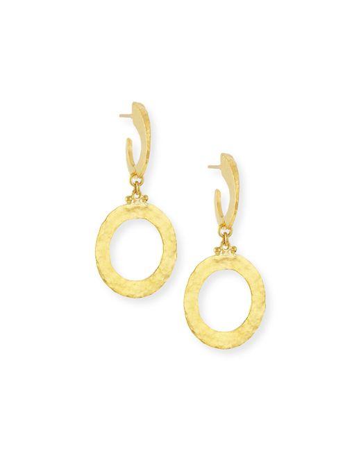 Gurhan | Metallic Hoopla 24k Gold Single Drop Infinity Earrings | Lyst