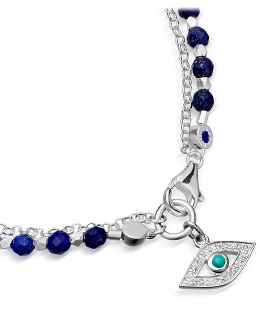 astley clarke royal blue evil eye biography bracelet in
