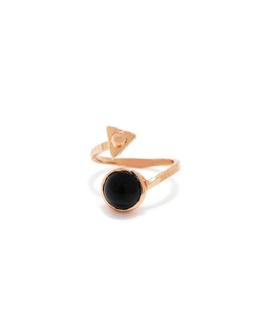 Bing Bang | Metallic Air Amulet Ring | Lyst