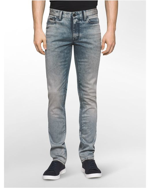 calvin klein jeans slim straight leg brisbane light wash. Black Bedroom Furniture Sets. Home Design Ideas