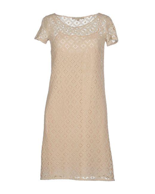 L'Autre Chose | Natural Short Dress | Lyst