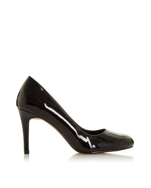 Dune Black 'arana' Mid Stiletto Heel Court Shoes