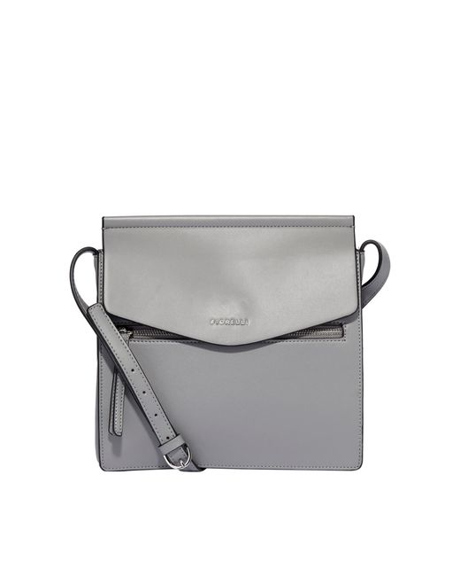 Fiorelli Gray Light Grey Mia Large Crossbody Bag