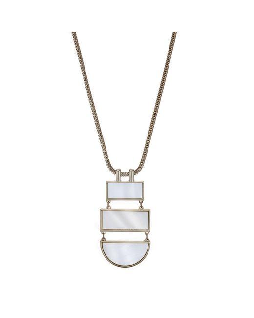 J By Jasper Conran - Metallic Designer Pearl Multi Shape Necklace - Lyst