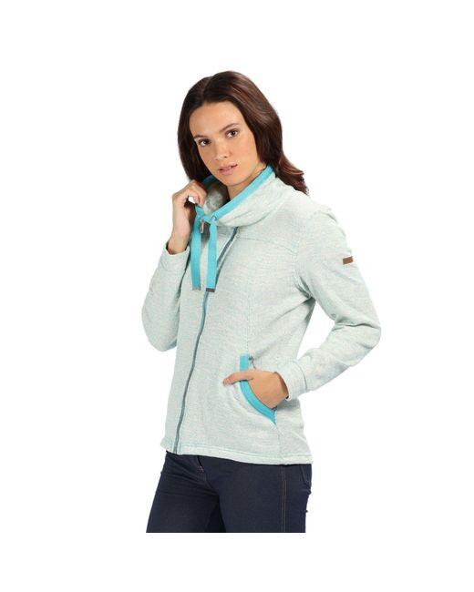 Regatta Blue Odetta Full-zip Fleece