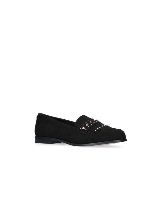 Carvela Kurt Geiger - Black 'metric' Flat Loafer Shoes - Lyst