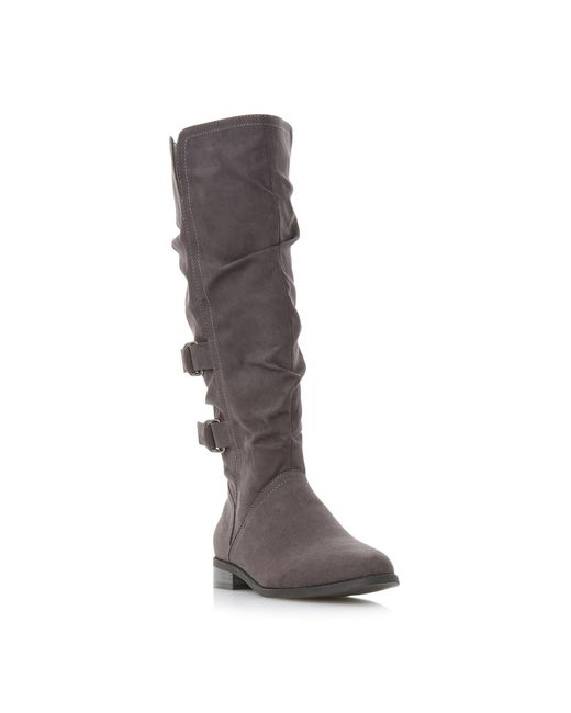Dune Gray 'tayte' Knee High Boots