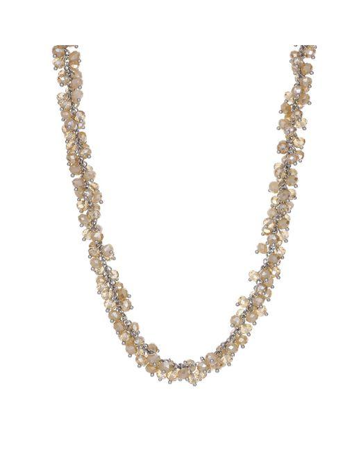 J By Jasper Conran - Pink Designer Cluster Bead Necklace - Lyst