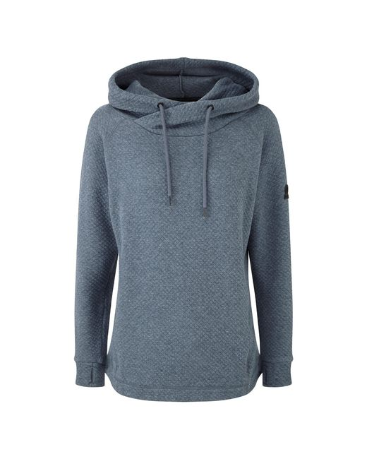 Tog 24 - Blue Navy Marl Nessa Quilted Hoody - Lyst