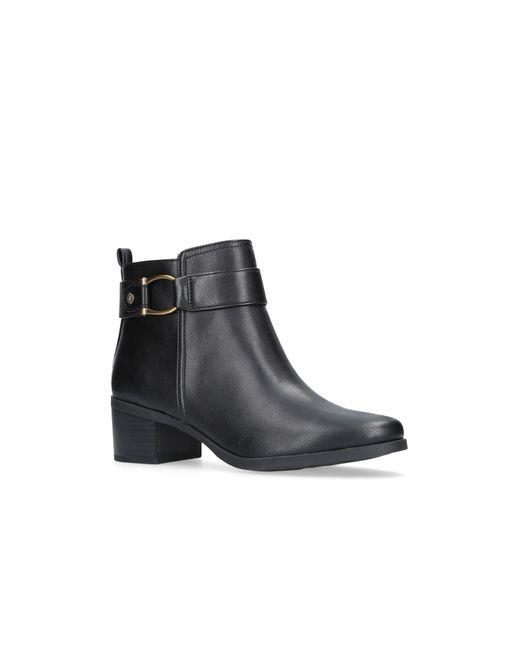 Anne Klein - Black 'jeannie' Ankle Boots - Lyst