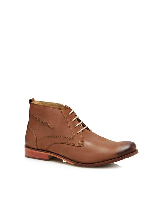 Lotus - Brown Tan Leather 'balfour' Chukka Boots for Men - Lyst