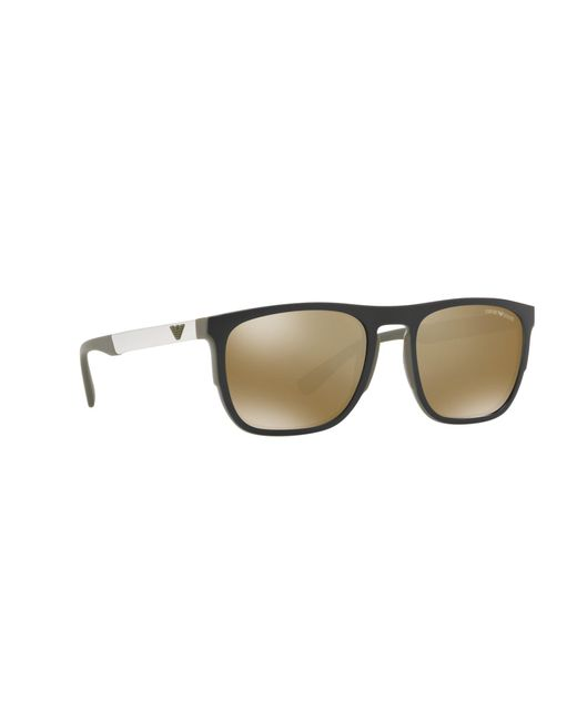 78af3c5f03fe Emporio Armani Green 0ea4114 Pillow Sunglasses in Green for Men - Lyst