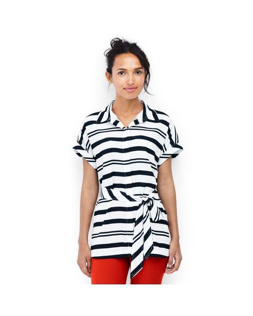 7e0a7de07d0 Lands  End - Multicolor Multi Crepe Georgette Shirt ...
