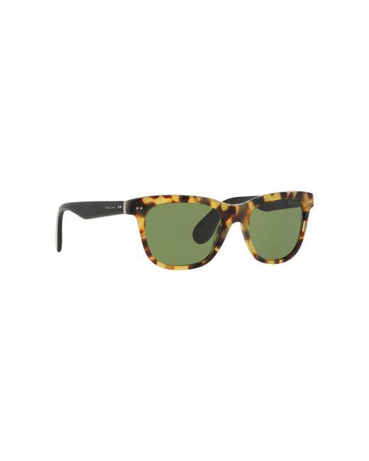 Ralph Lauren - Green Brown Rl8119w Square Sunglasses - Lyst