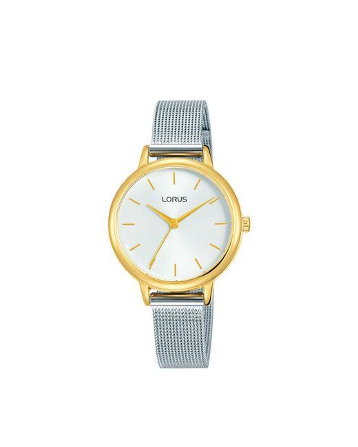 Lorus Metallic Ladies Analogue Mesh Bracelet Watch Rg250nx9