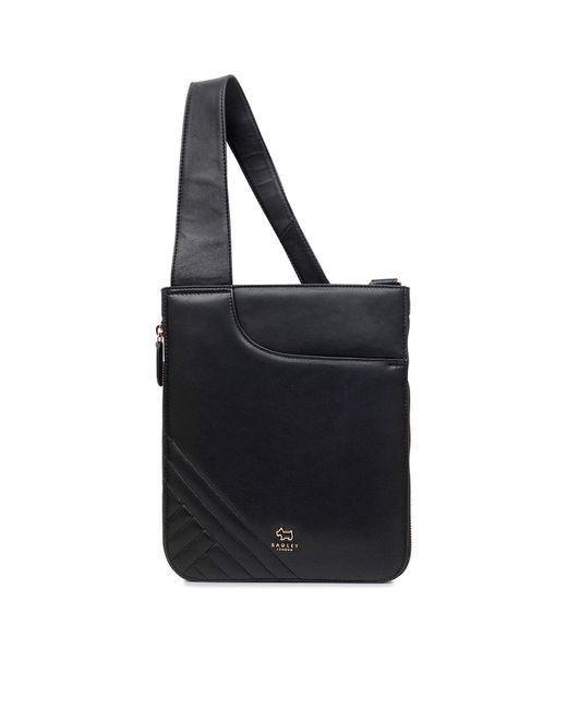 Radley - Black Pockets Medium Ziptop Crossbody Bag - Lyst