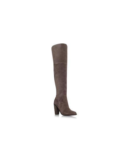 Vince Camuto - Brown 'lorrey' High Heel Knee Boots - Lyst