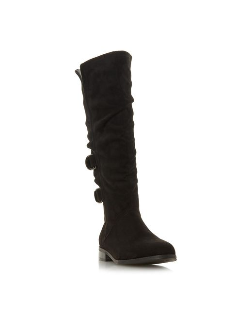 Dune Black 'tayte' Knee High Boots