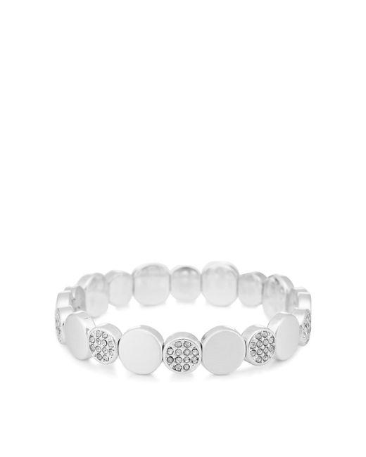 Pilgrim Metallic Plated Crystal 'grace' Bracelet