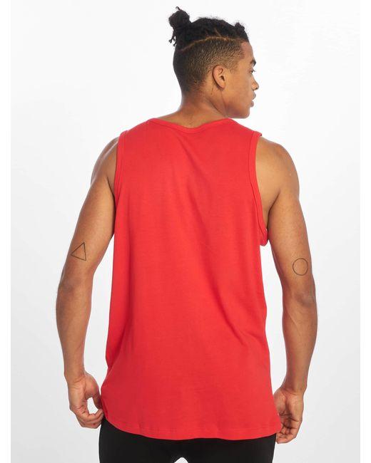 Nike Männer Tank Tops Icon Futura in Red für Herren