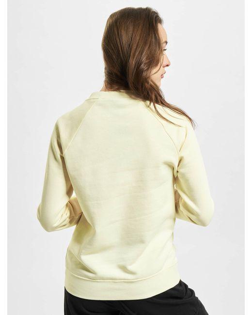 Nike Natural Frauen Pullover W Nsw Essntl Flc Gx Crew