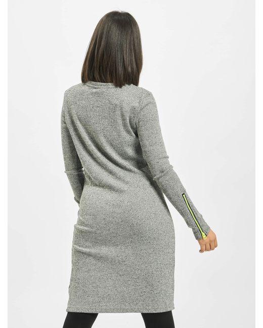 Noisy May Gray Frauen Kleid nmLene