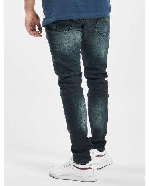Only & Sons Männer Slim Fit Jeans onsLoom Damage in Blue für Herren