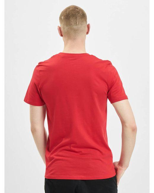Jack & Jones Männer T-Shirt jjeCorp Logo Noos in Red für Herren