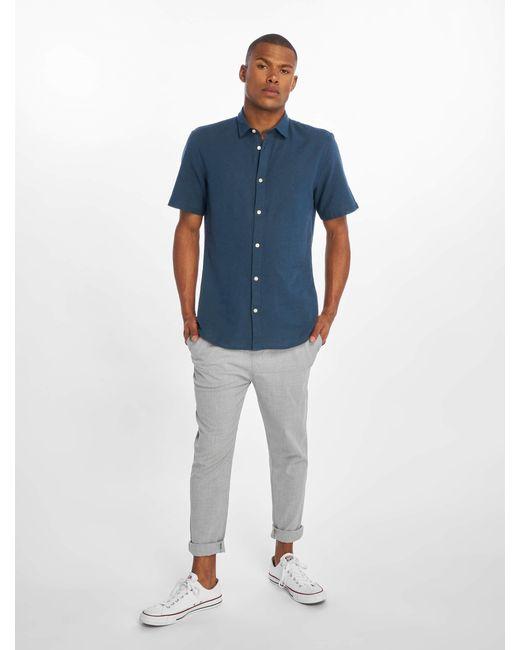 Only & Sons Männer Hemd onsCaiden Linen in Blue für Herren